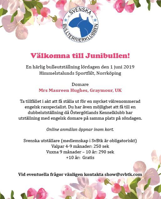 Junibullen Save the date