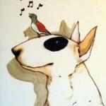VÅR Konstkort A4 av Lisa Carlstedt  1 st 30:- eller 4 st 100:-