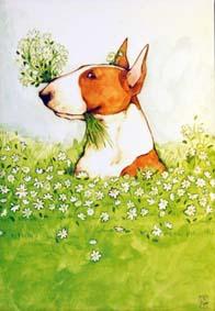 SOMMAR Konstkort A4 av Lisa Carlstedt  1 st 30:- eller 4 st 100:-